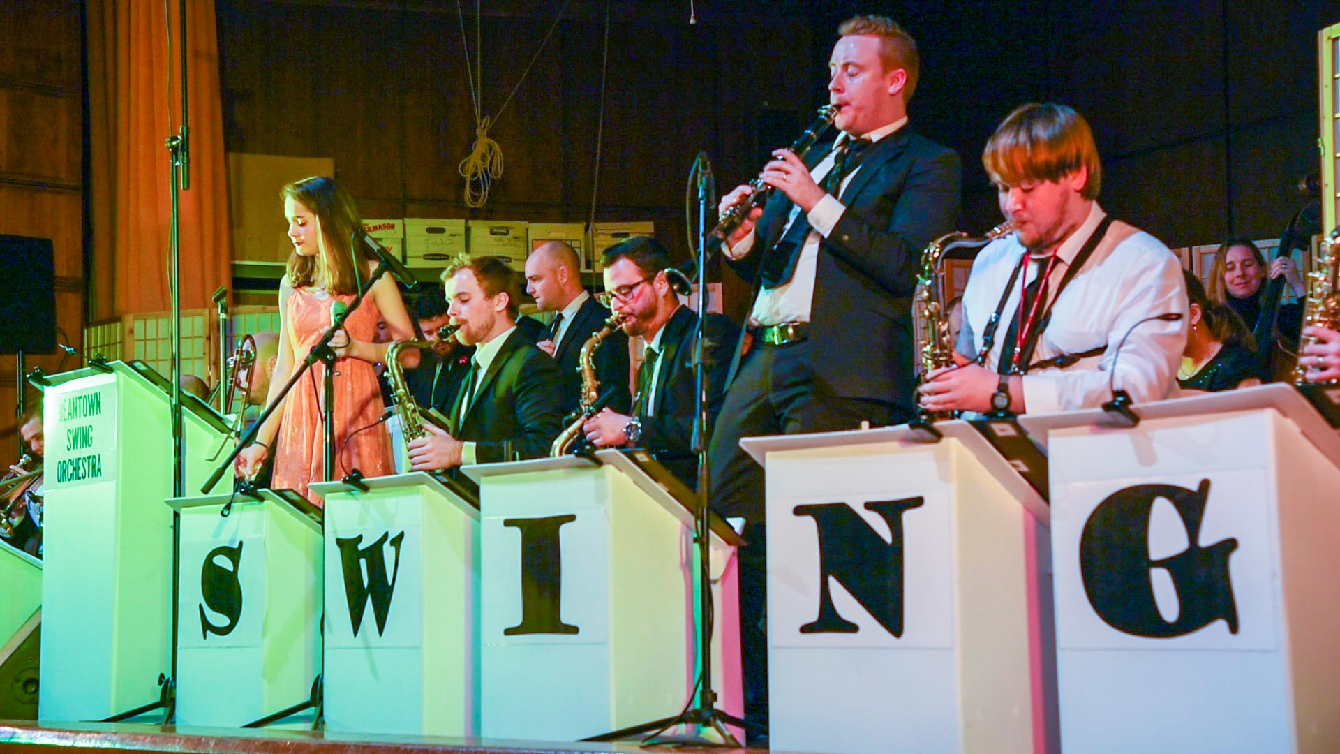 Beantown Swing Orchestra Hop To The Beat