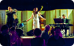 Gordon Webster Band with Naomi Uyama