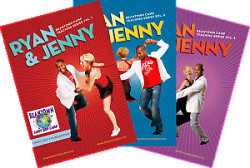 Ryan Francois and Jenny Thomas DVDs