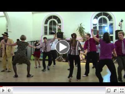 Lindy Chorus, Uptown Swing Dance, Brookline MA